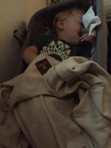 Duncan in bassinet